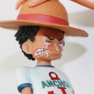 15cm Anime One Piece Four Emperors Shanks Straw Hat Luffy PVC Action Figure Going Merry Doll 4