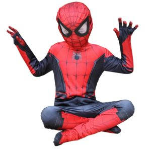Extraordinary Spider Man Pantyhose Children s Heroes Returned Siamese Anime Cosplay Costumes and Masks 4