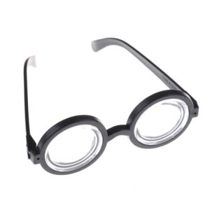 Kids Funny Decorative Minions Cosplay Costume Glasses Party Props Circular Glass Birthday Party Supplies Decoration 2