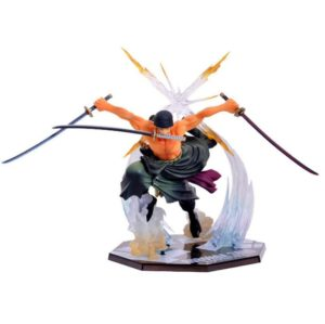One Piece Roronoa Zoro Figurine Colossum Battle Ver PVC Action Collection Figure Model Gift Luffy 21cm 1