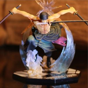 One Piece Roronoa Zoro Figurine Colossum Battle Ver PVC Action Collection Figure Model Gift Luffy 21cm