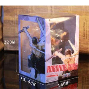 One Piece Roronoa Zoro Figurine Colossum Battle Ver PVC Action Collection Figure Model Gift Luffy 21cm 4