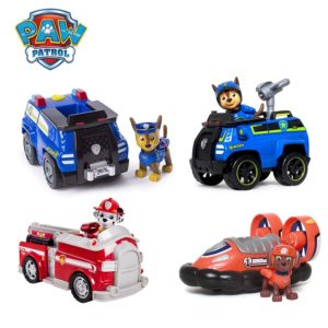 Paw Patrol Rescue Dog Puppy Set Toy Car Patrulla Canina Toys Action Figure Model Marshall Chase 1