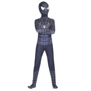 Red and black birthday spider costume adult suit costume child cosplay costume Halloween kid adult Selling 4