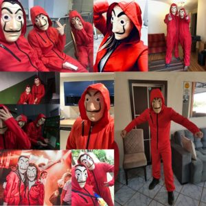 Salvador Dali Cosplay Costume The House of Paper House Paper Movie Cosplay Halloween Party Money Heist 1