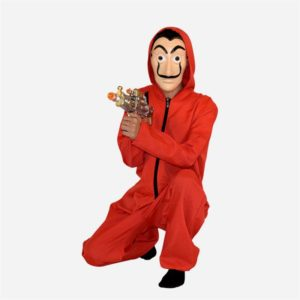 Salvador Dali Cosplay Costume The House of Paper House Paper Movie Cosplay Halloween Party Money Heist 3