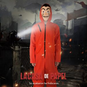 Salvador Dali Cosplay Costume The House of Paper House Paper Movie Cosplay Halloween Party Money Heist
