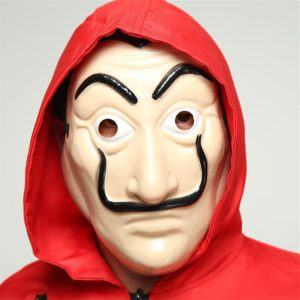 Salvador Dali Cosplay Costume The House of Paper House Paper Movie Cosplay Halloween Party Money Heist 4